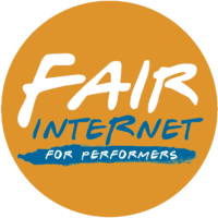 Fair Internet for performers.