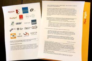 Déclaration commune des sociétés de gestion de droits d'auteur et droits voisins relative à l'avant-projet de loi sur l'injection directe et les droits de câble