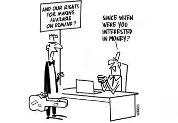 Geen hervorming auteursrecht in Europa