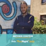 Antonin Compère : lauréat du prix PlayRight+ de l'IAD