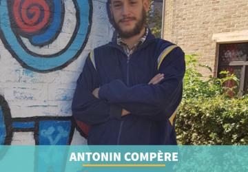 Antonin Compère : laureaat van PlayRight+ prijs aan het IAD