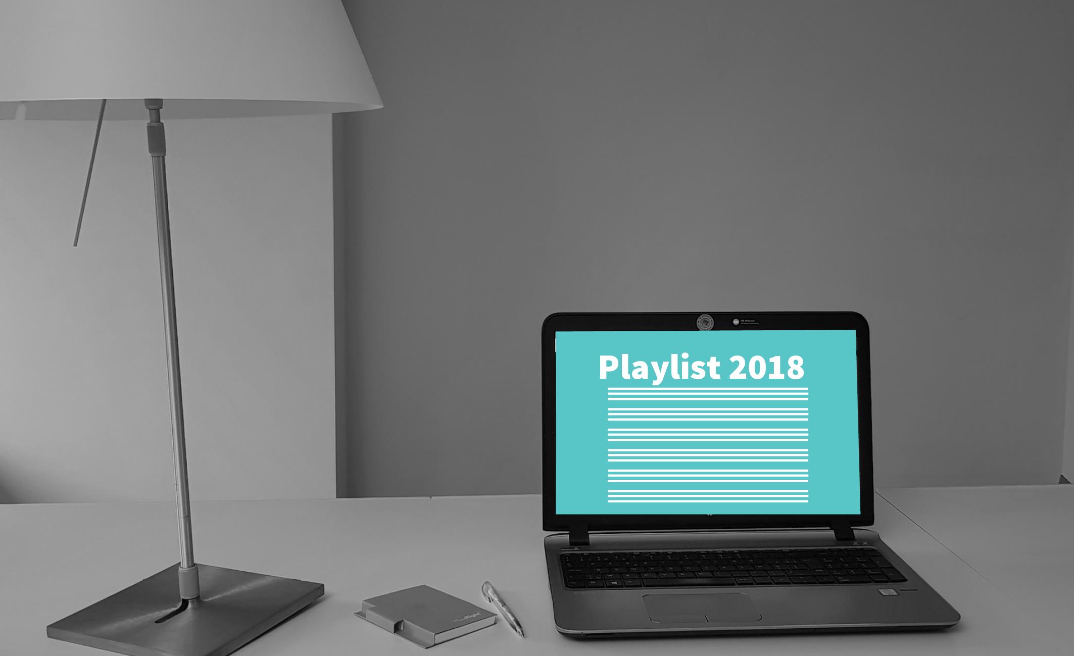 Playlist 2018 nu online: geef jouw muziekopnames aan!