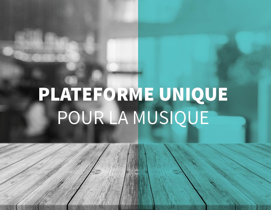 Une plateforme unique pour l'utilisation de la musique en Belgique