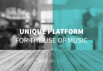 A unique platform for the use of music in Belgium