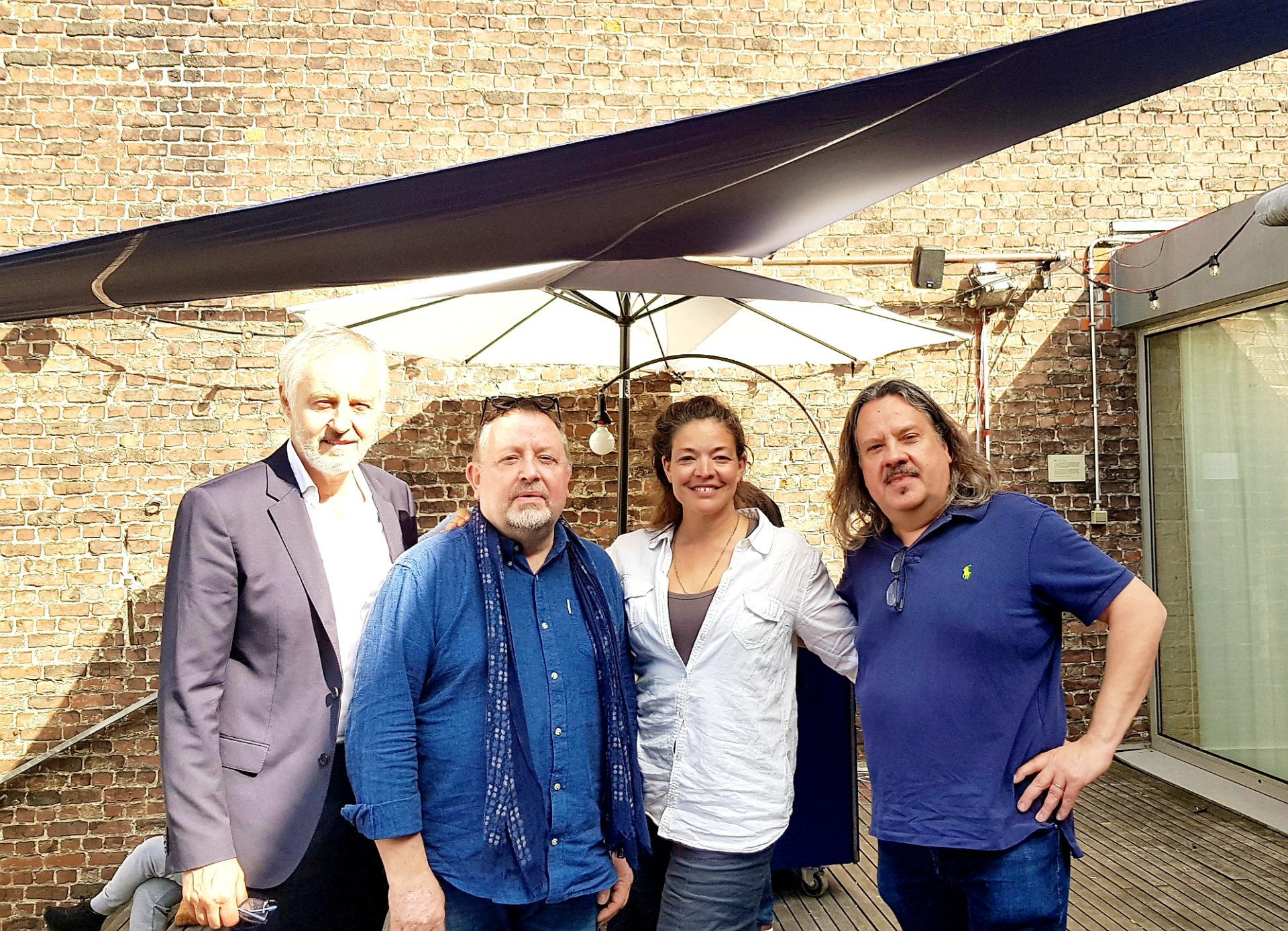 Johan Van Assche, Paul Poelmans,  Julie Basecqz  en  Christian Martin