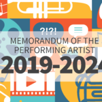 Memorandum of the performing artist (2019-2024)