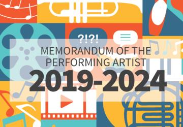 Memorandum of the performing artist (2019-2024)