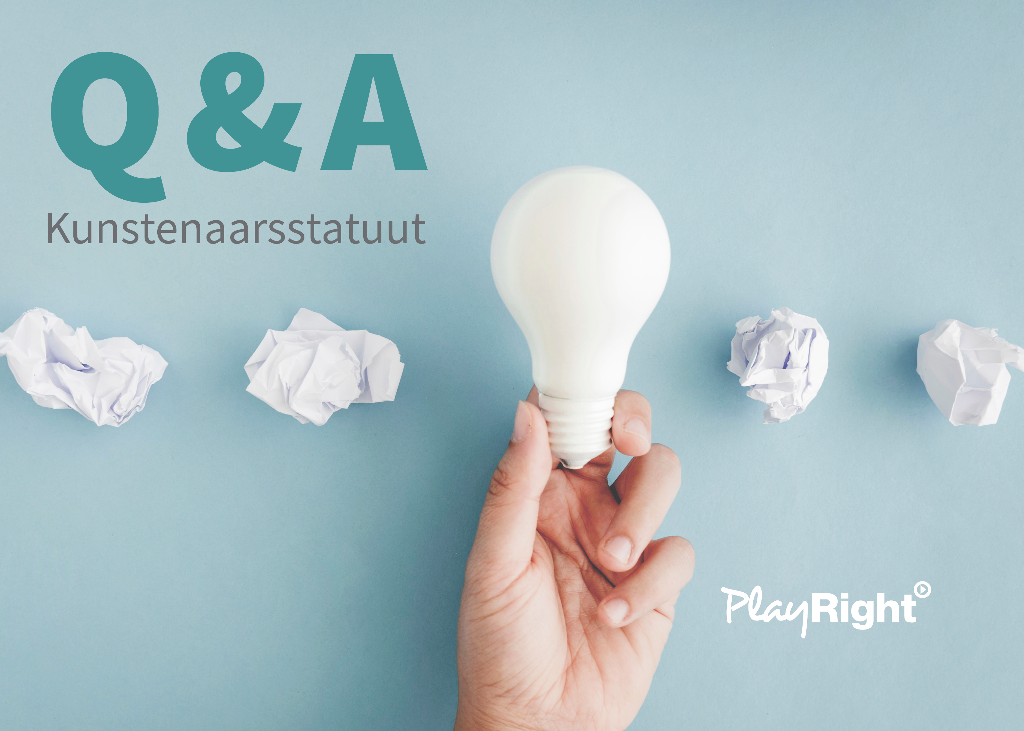 Q&A over het kunstenaarsstatuut