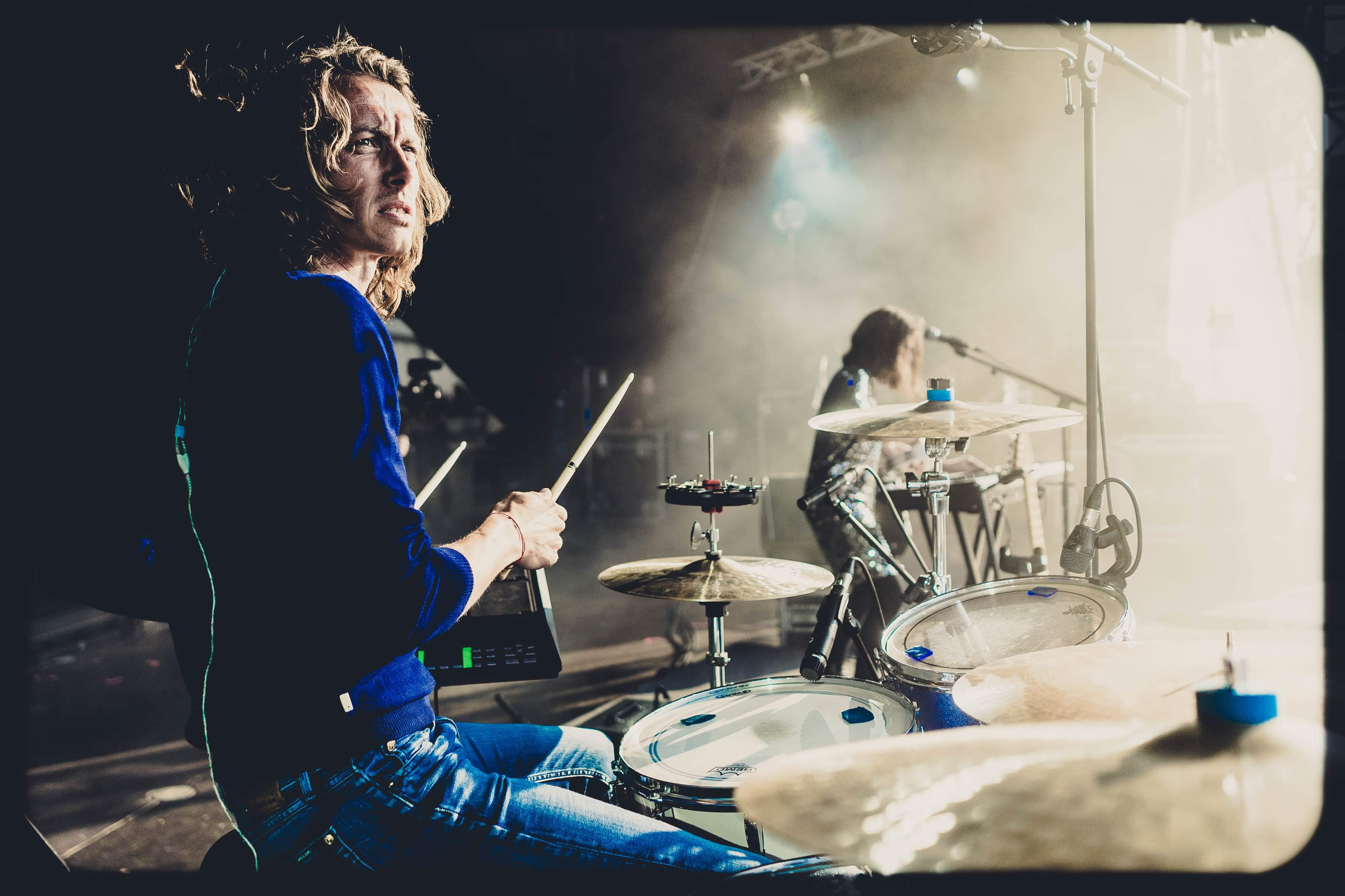 Encounter with Nicky Collaer, professional drummer