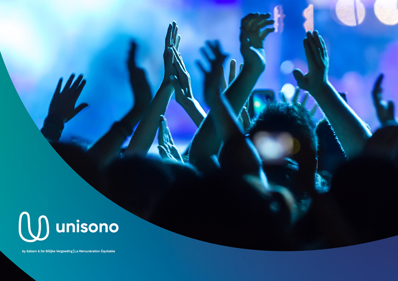 Launch of Unisono, the unique platform for copyrights & neighbouring rights