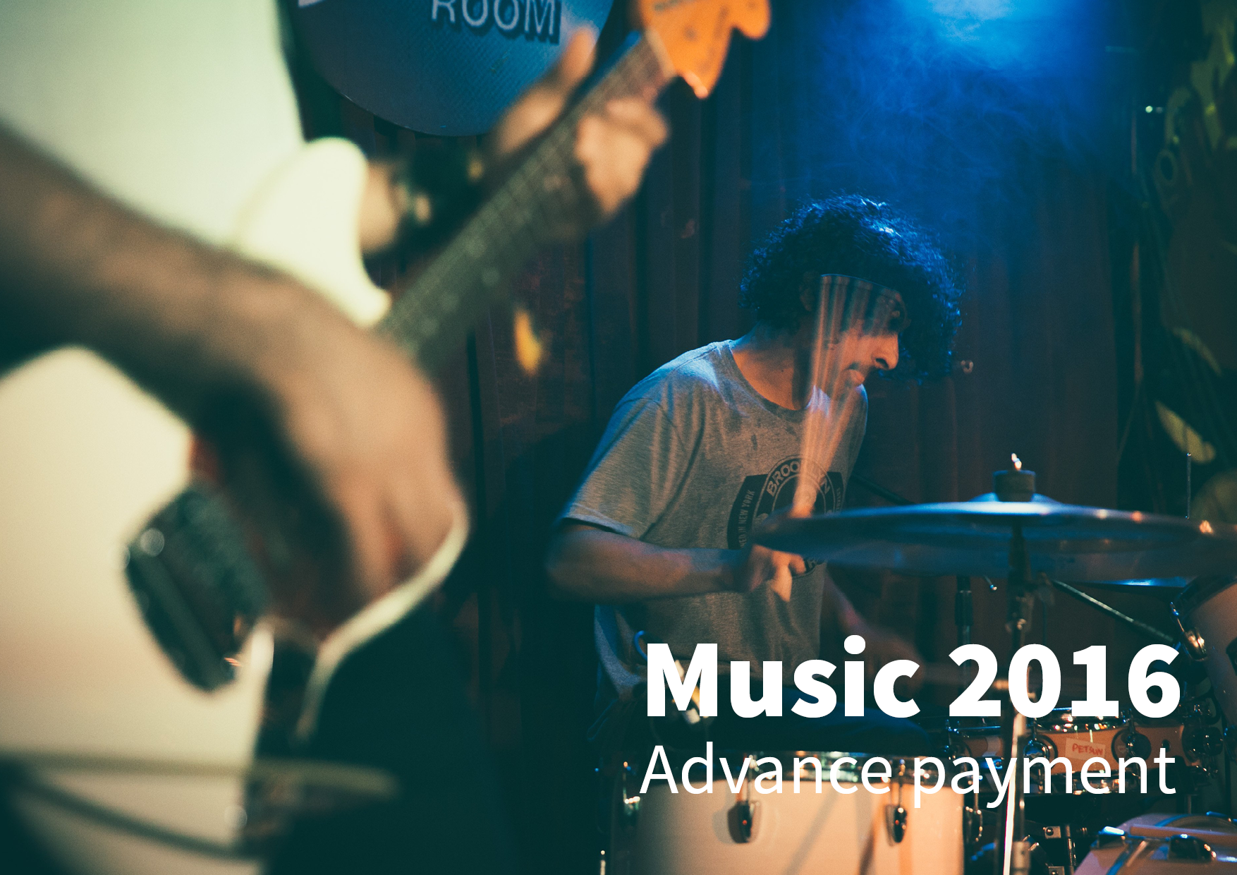 Music 2016: advanced payment of your rights