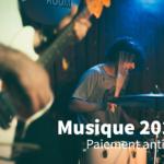 Musique 2016: versement anticipé de vos droits
