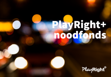 Het PlayRight+ noodfonds is verlengd tot en met december!