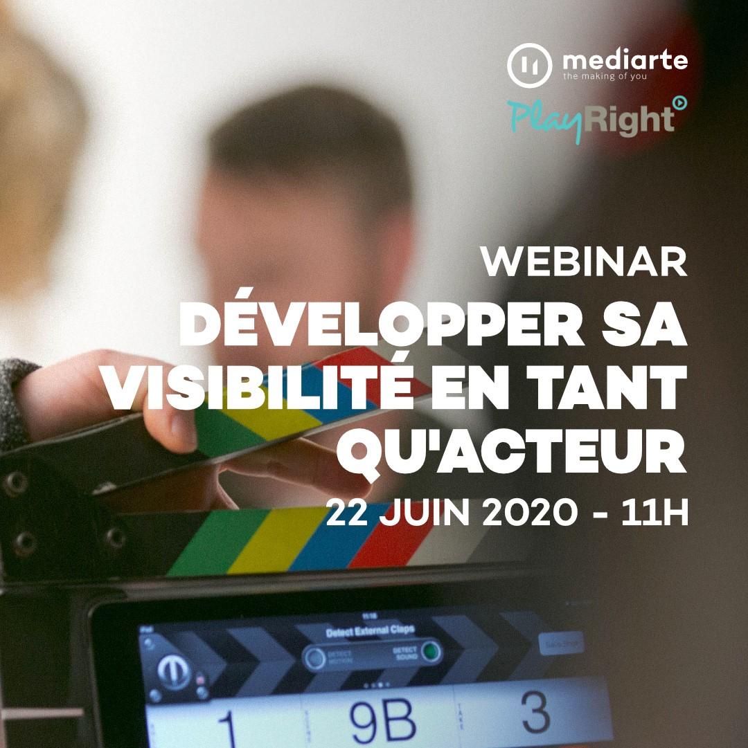 Webinar – Développer sa visibilité en tant qu'acteur