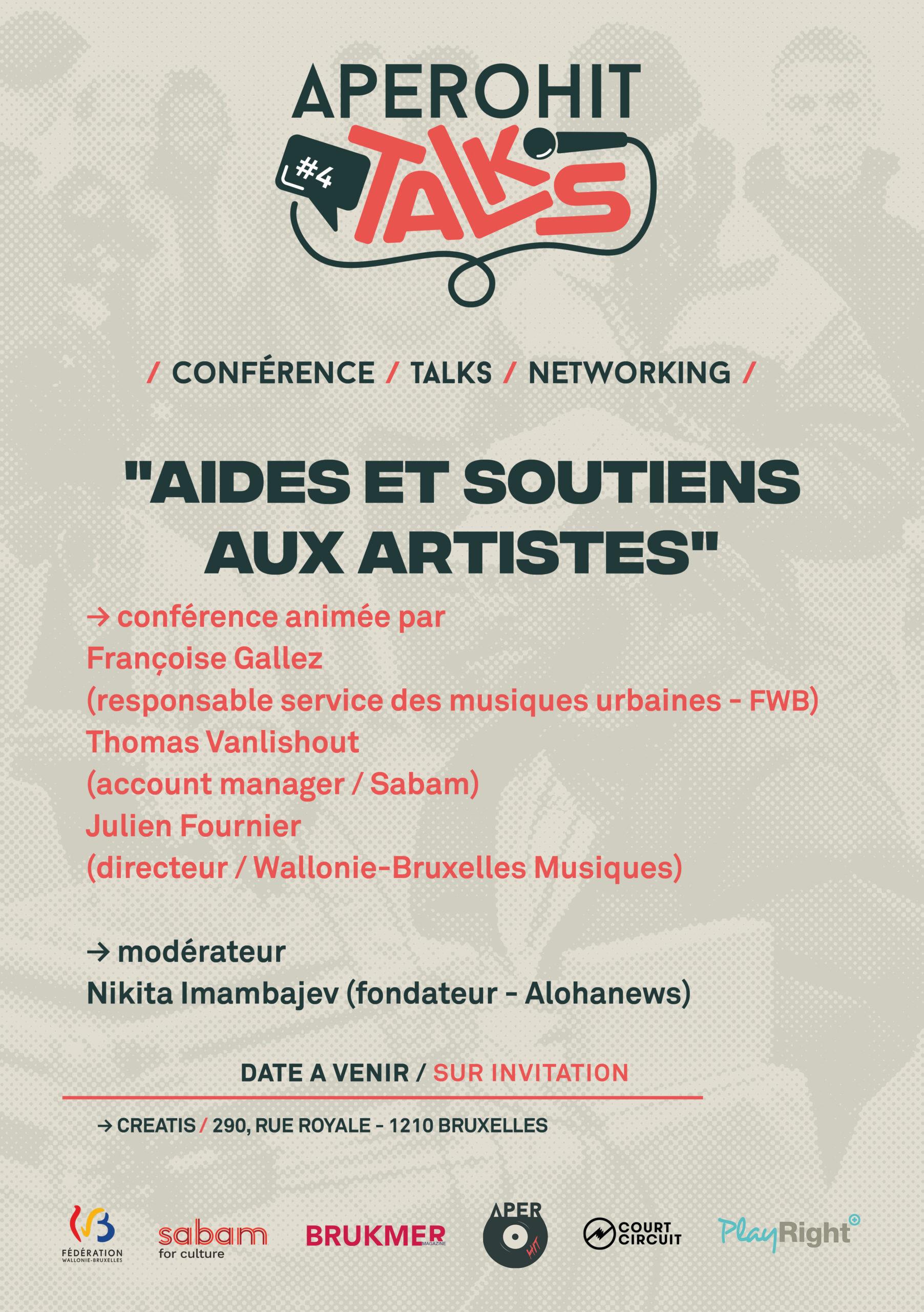 Aperohit Talks #4: Artistes émergents des musiques urbaines