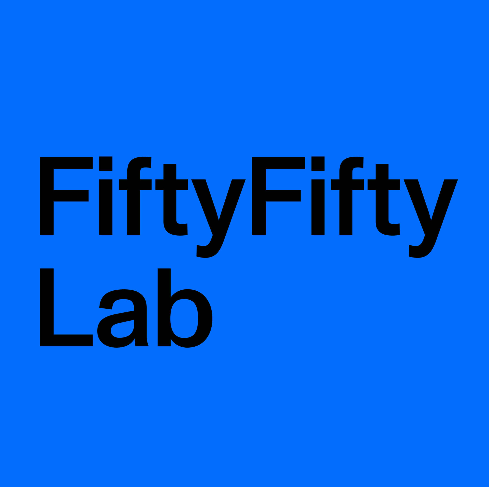 Fifty lab festival