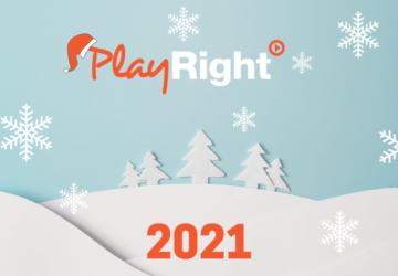 🌟 PlayRight wenst je fijne feestdagen