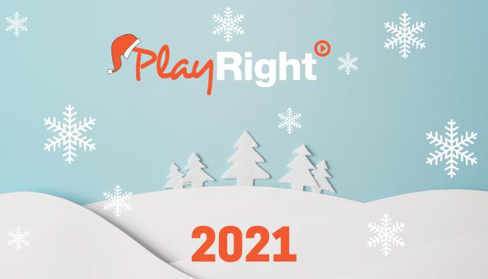 🌟 PlayRight vous souhaite de belles fêtes