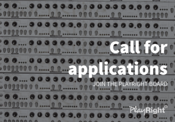 Call for applications: Join the PlayRight Board
