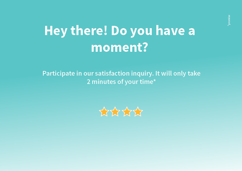 How satisfied are you with PlayRight? Participate in our satisfaction survey!