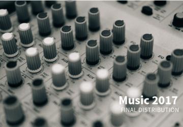 MUSIC 2017: Final distribution of 7.945.427€
