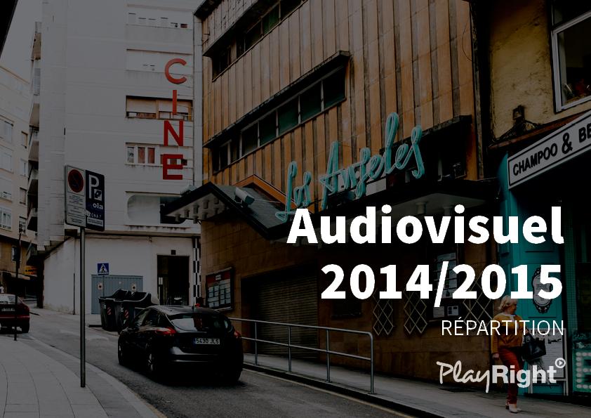 Répartition de clôture des droits audiovisuels 2014/2015 : 5.3 millions d'€