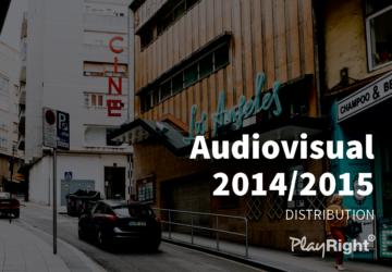 FINAL DISTRIBUTION AUDIOVISUAL RIGHTS 2014/2015: 5.3 million €