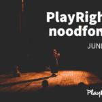 VERLENGING PLAYRIGHT+ NOODFONDS JUNI: NU STEUN AANVRAGEN!