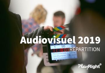 PREMIÈRE RÉPARTITION AUDIOVISUELLES 2019 : 275.000€