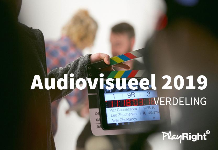 EERSTE VERDELING AUDIVISUELE RECHTEN 2019: €275.000