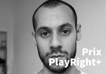 Mehdi Zekhnini, lauréat 2020 du prix PlayRight+ (IAD)